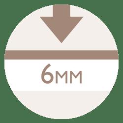 6mm Wear layer